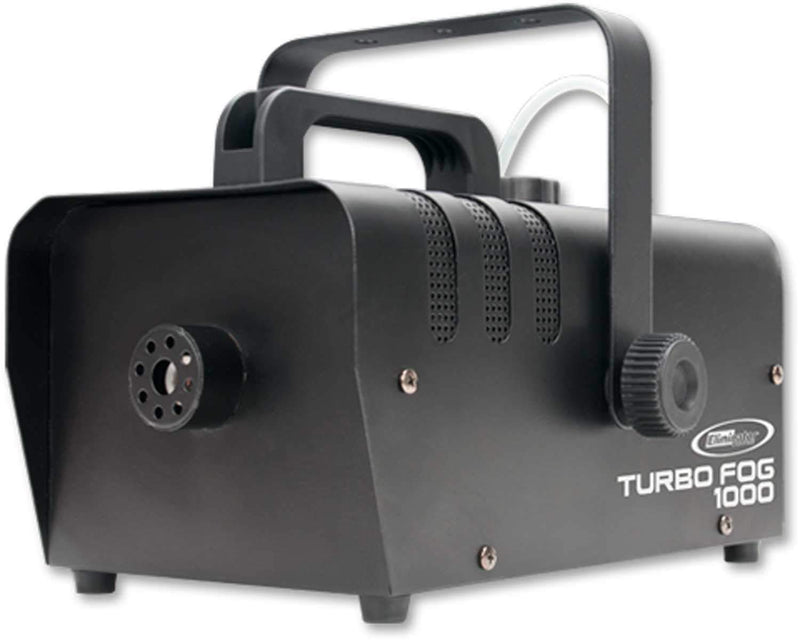 Eliminator Turbo Fog 1000 800-Watt Fog Machine with Wireless Remote - PSSL ProSound and Stage Lighting
