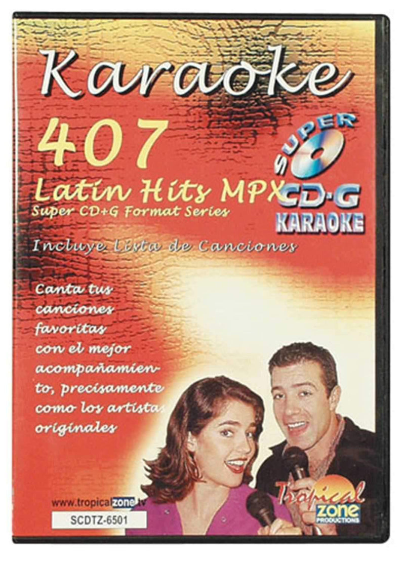 CAVS TROPICAL Zone Karaoke Latin Hits Super CD Plus G - PSSL ProSound and Stage Lighting