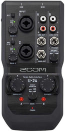 Zoom U-24 Handy Audio Interface - PSSL ProSound and Stage Lighting