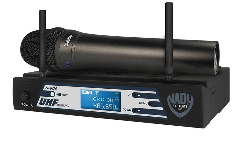 Nady U800HT 800 Freq Uhf Pro Wireless Handheld Mic - PSSL ProSound and Stage Lighting