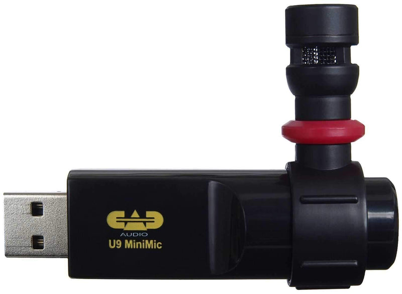 CAD U9 Omnidirectional USB Microphone - PSSL ProSound and Stage Lighting