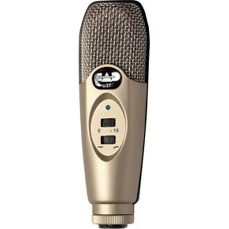 CAD U37 Usb Studio Recording Condenser Microphone - PSSL ProSound and Stage Lighting
