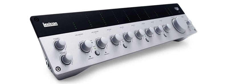 Lexicon IO82 8 Input Audio Interface USB Studio - PSSL ProSound and Stage Lighting