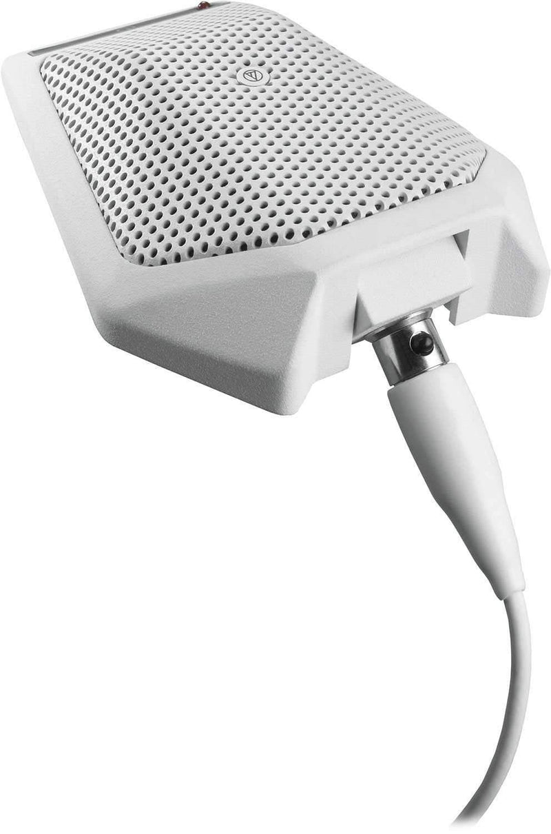 Audio Technica U891RWX Condenser Boundary Mic - Wt - PSSL ProSound and Stage Lighting