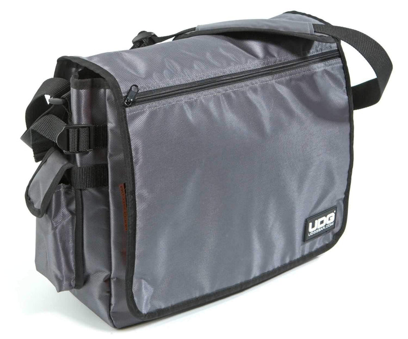 UDG U9419 Courier Bag Steel Grey with Orange Inside - PSSL ProSound and Stage Lighting