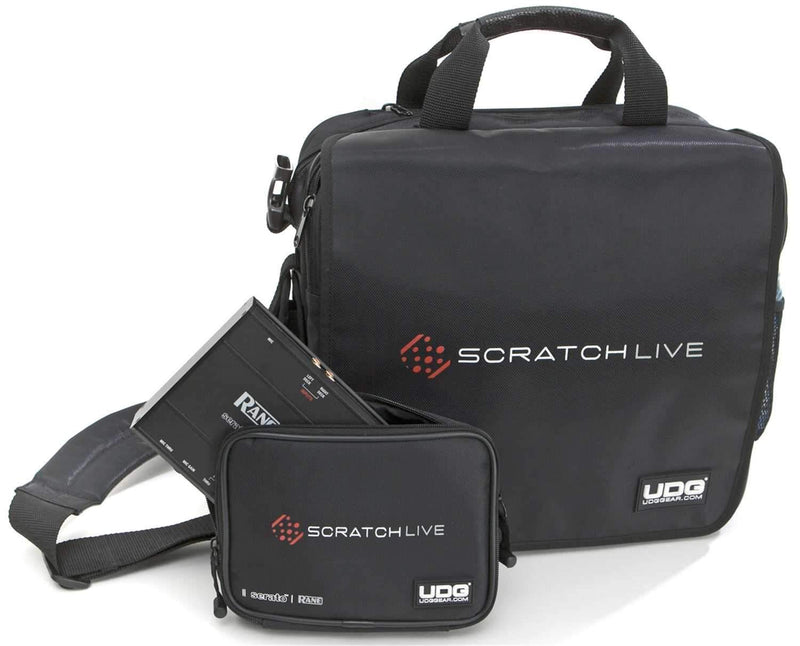 UDG U9470S Serato Courier Bag Deluxe - Black - PSSL ProSound and Stage Lighting