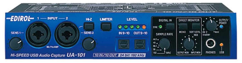 Edirol UA-101 10 In And 10 Out Hi Speed Usb - PSSL ProSound and Stage Lighting