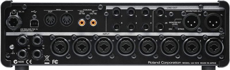 Roland Studio Capture USB Audio Interface - PSSL ProSound and Stage Lighting