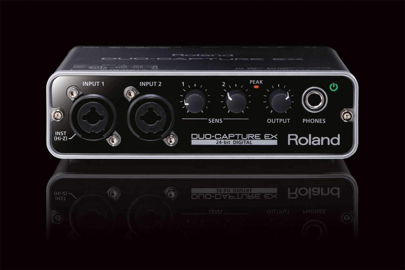 Roland Duo-Capture EX 2-Channel USB Interface - PSSL ProSound and Stage Lighting