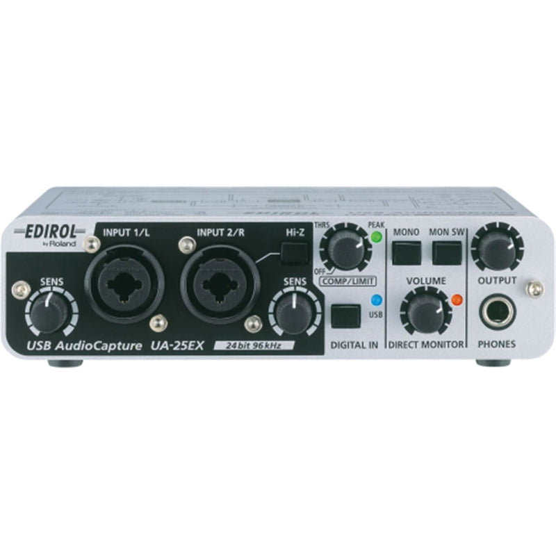 Edirol UA-25-EX USB Audio and Midi Interface - PSSL ProSound and Stage Lighting