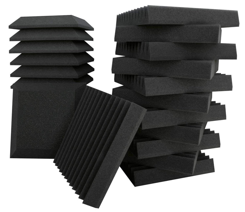 Ultimate Acoustics KITSB2 Studio Foam Panel Bundle - PSSL ProSound and Stage Lighting