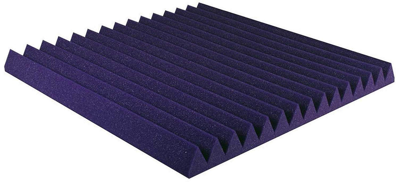 Ultimate Acoustics UAWPW24PR Purple Wedge Panels - PSSL ProSound and Stage Lighting
