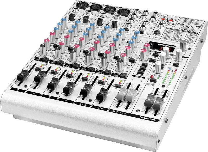 Behringer UB1204FX Pro PA Mixer with Built-In Effects - PSSL ProSound and Stage Lighting
