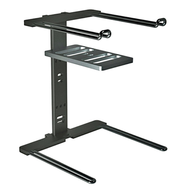 Stanton Professional DJ Laptop Gear Stand Black - PSSL ProSound and Stage Lighting