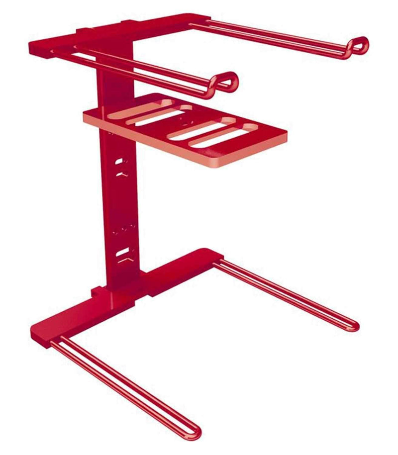 Stanton UBERSTANDRED Professional Laptop Stand-Red - PSSL ProSound and Stage Lighting