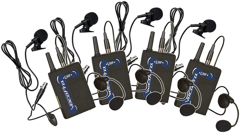 VocoPro UBP-7 UHF Wireless Bodypack for Headset or Lavalier Mic - PSSL ProSound and Stage Lighting