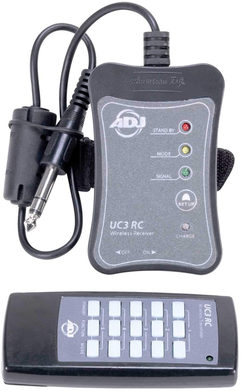 American DJ UC3-RC System Wireless Remote Control - PSSL ProSound and Stage Lighting