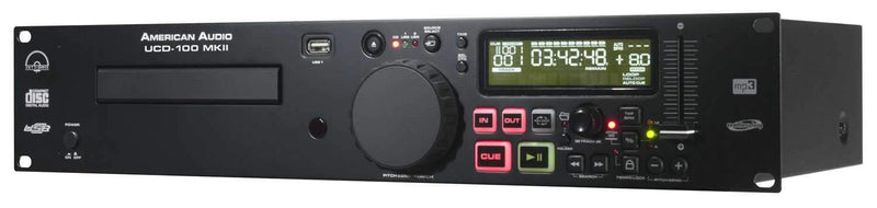 American Audio UCD-100 MK2 Single DJ CD MP3 Player - PSSL ProSound and Stage Lighting