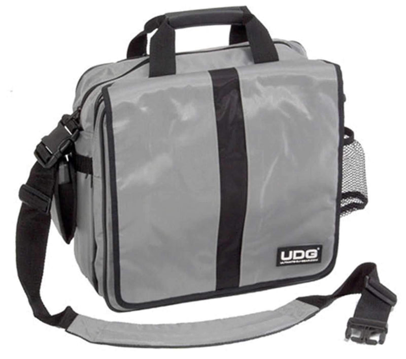 UDG U9477 45 Lp Deluxe Courier Bag - Silver - PSSL ProSound and Stage Lighting