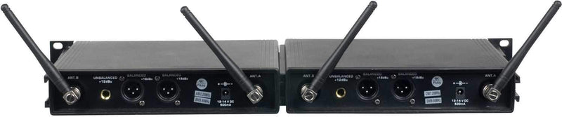 Vocopro UDH 4 Ultra 4-Channel UHF Wireless Mic System - PSSL ProSound and Stage Lighting