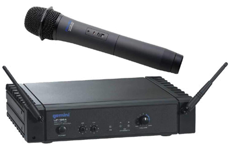 Gemini UF1264H Diversity Headset Mic System - PSSL ProSound and Stage Lighting