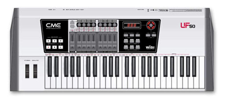 Cme UF50 49-Key USB/Midi Keyboard Controller - PSSL ProSound and Stage Lighting