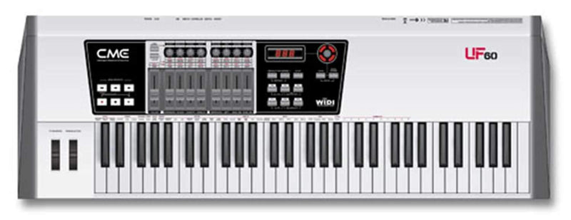 Cme UF60 61-Key USB/Midi Keyboard Controller - PSSL ProSound and Stage Lighting