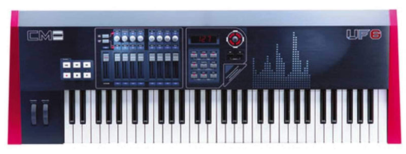Cme UF6 61-Key USB/Midi Keyboard Controller - PSSL ProSound and Stage Lighting