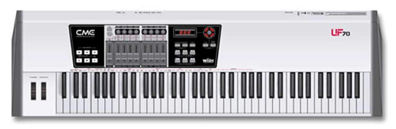 Cme UF70 76-Key USB/Midi Keyboard Controller - PSSL ProSound and Stage Lighting