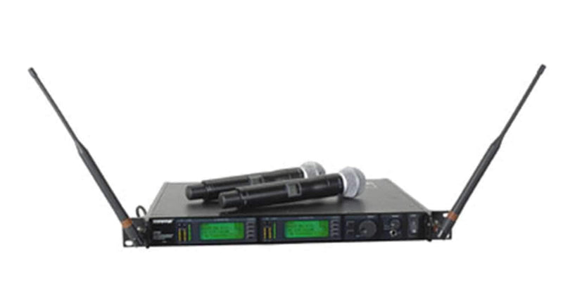 Shure UD24DSM58 Dual Handheld Wireless Mic-Sm58 - PSSL ProSound and Stage Lighting