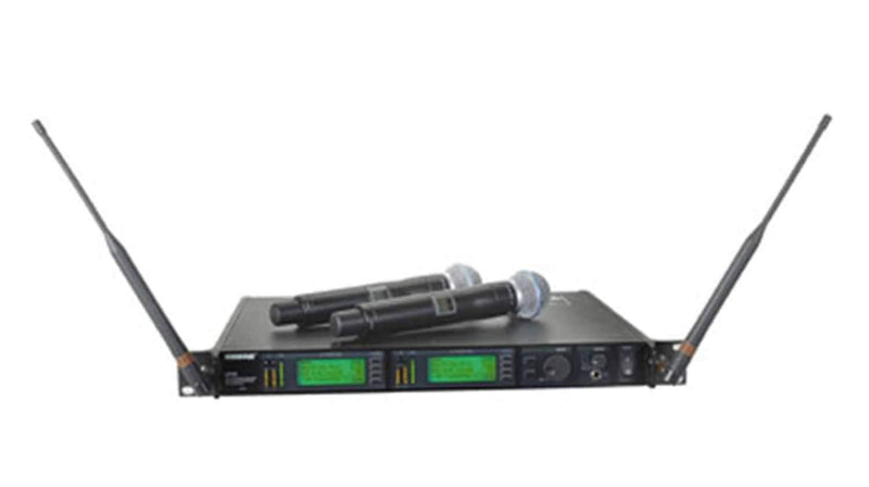 Shure UR24DBETA87A Dual Handheld Wireless-Beta87A - PSSL ProSound and Stage Lighting