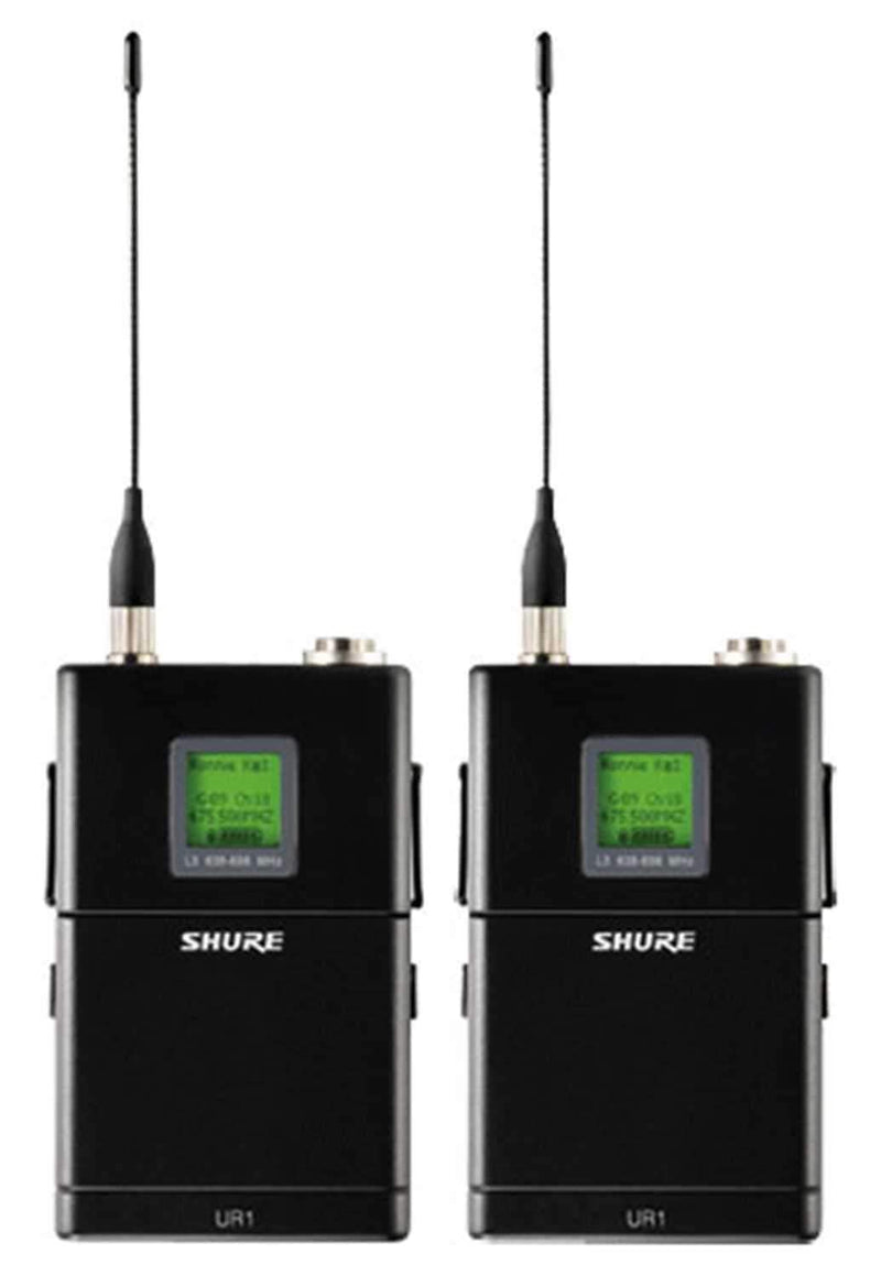 Shure UR124DSM86 Dual Bodypack Transmitter-Sm86 - PSSL ProSound and Stage Lighting
