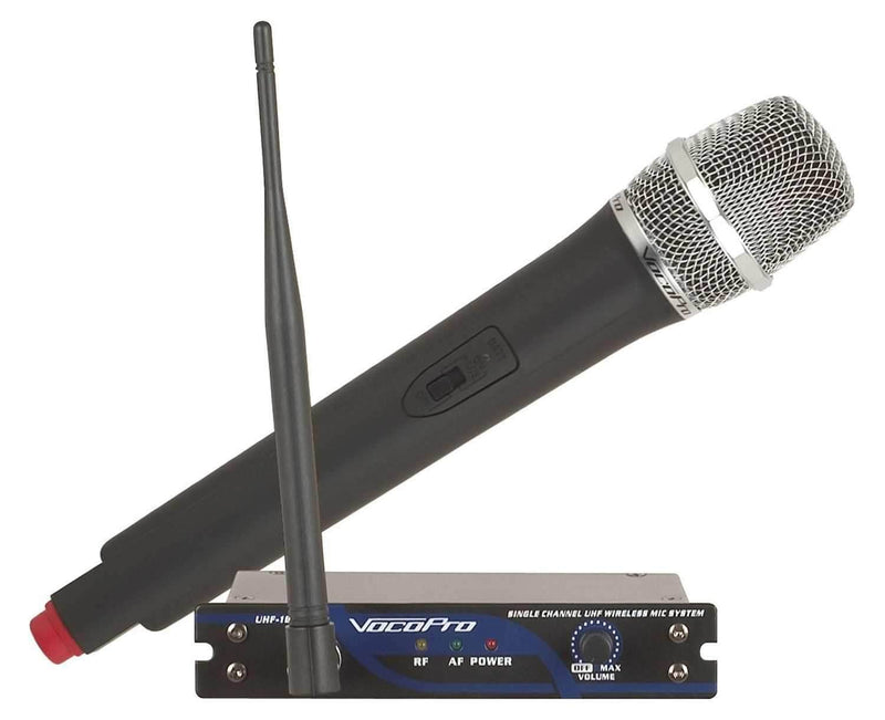 VocoPro UHF-18 Single Channel Wireless Mic System - PSSL ProSound and Stage Lighting