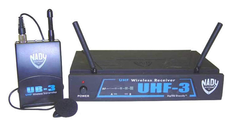 Nady UHF3LTO Presenters Lavalier Wireless Mic - PSSL ProSound and Stage Lighting