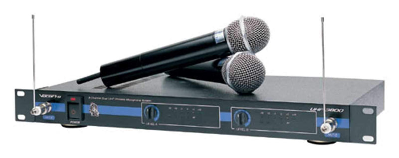 Vocopro UHF3800 Dual Uhf Wireless Mic System - PSSL ProSound and Stage Lighting