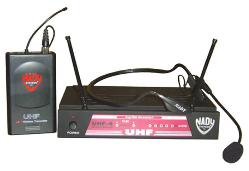 Nady UHF4LTHM3 Headset Wireless System - PSSL ProSound and Stage Lighting