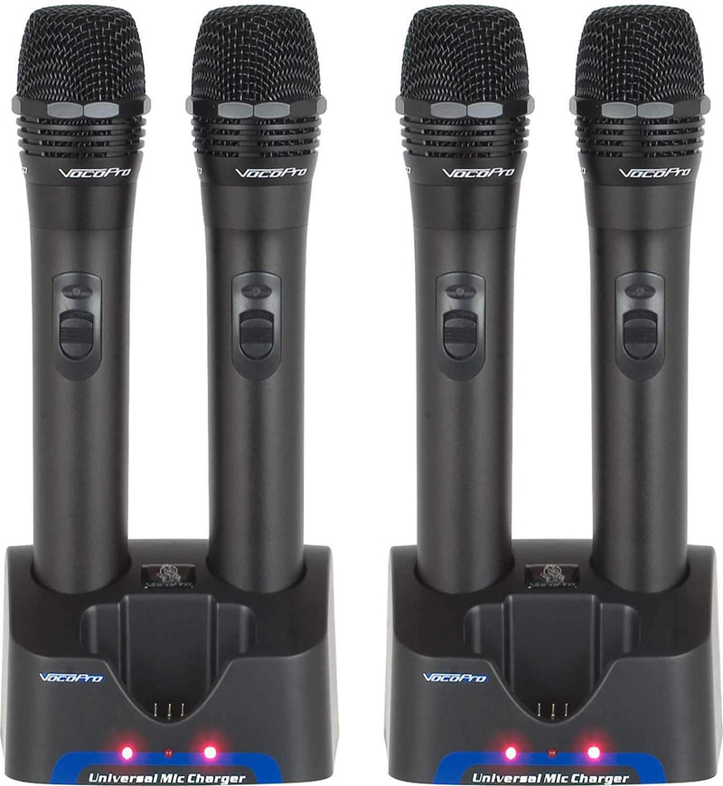 VocoPro UHF-5805 4 Channel UHF Wireless Mic System - PSSL ProSound and Stage Lighting