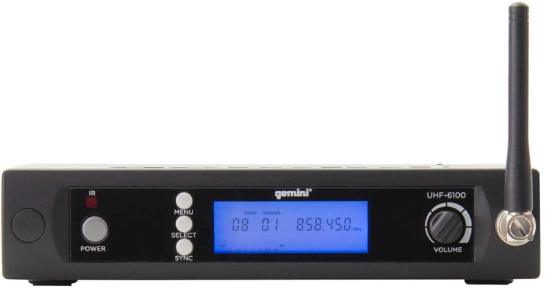 Gemini UHF-6100HL UHF Lav & Headset Wireless Mic - PSSL ProSound and Stage Lighting