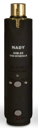 Nady UIM2X Usb Audio Interface with Phantom Power - PSSL ProSound and Stage Lighting