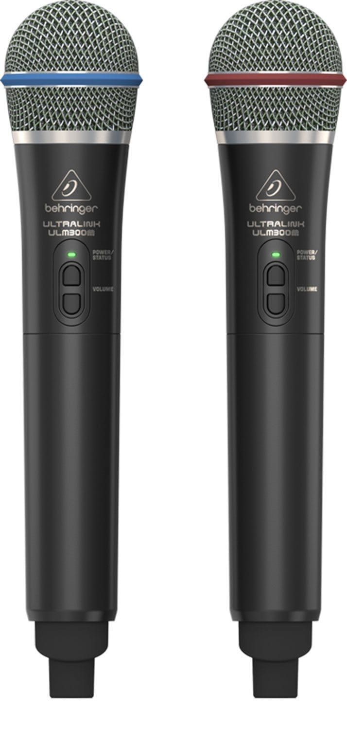 Behringer ULM302MIC Digital Wireless System with 2 Handheld Mics - PSSL ProSound and Stage Lighting