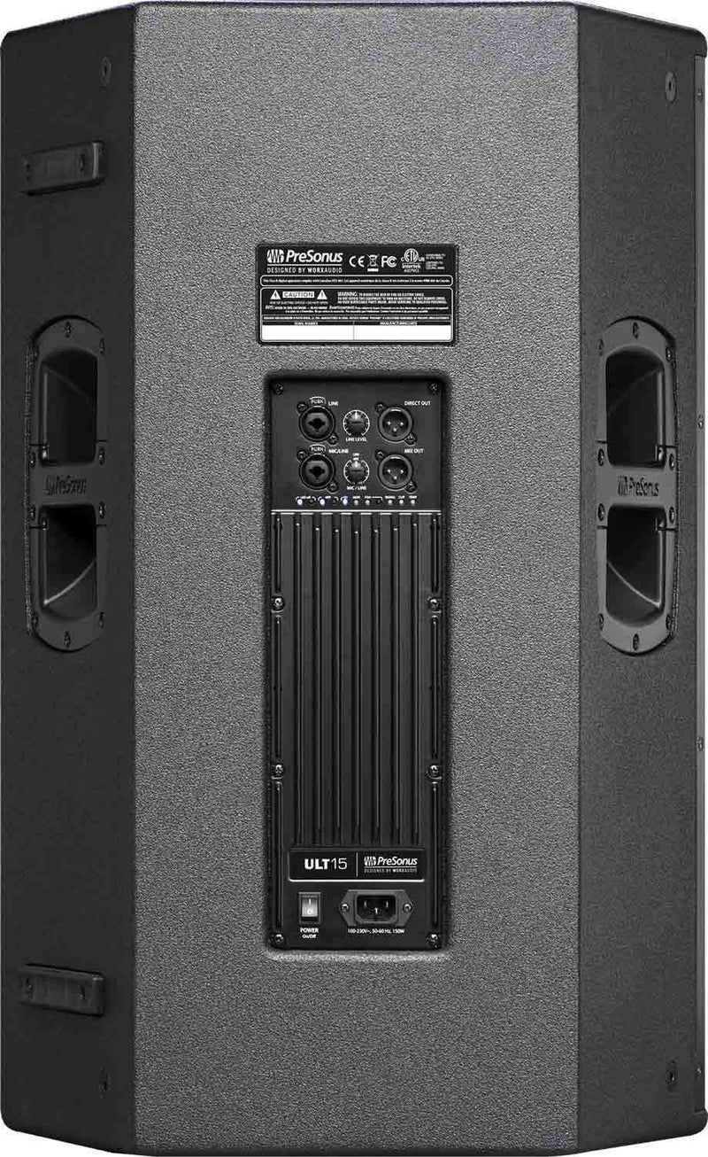 PreSonus ULT15 15-Inch 2-Way Powered Speaker - PSSL ProSound and Stage Lighting