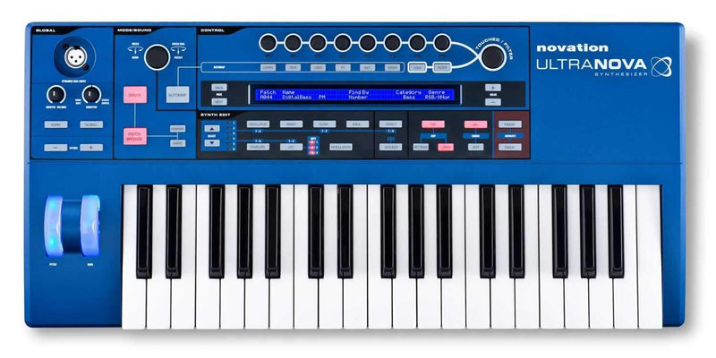 Novation Ultranova 37 Key Analog Modeling Synth - PSSL ProSound and Stage Lighting