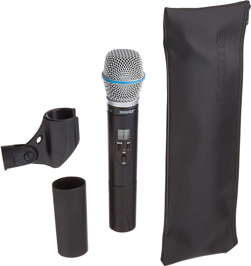 Shure Wireless Transmitter with Beta 87A Microphone - PSSL ProSound and Stage Lighting