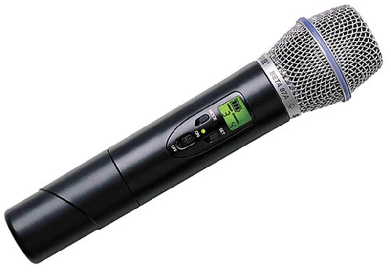 Shure ULXP24BETA87A UHF Hnd Wireless Mic with Beta87A - PSSL ProSound and Stage Lighting