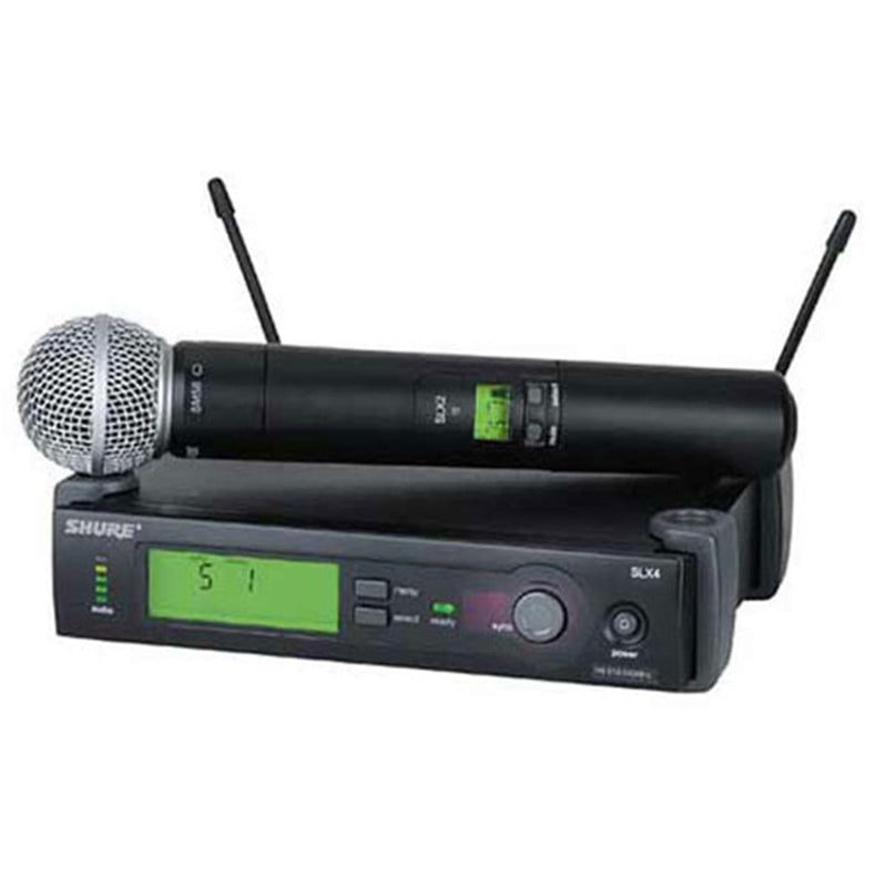 Shure ULXP2458 Sm58 Handheld Wireless Mic System - PSSL ProSound and Stage Lighting