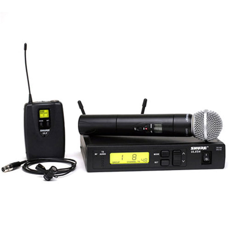 Shure ULXS12485 UHF Handheld/Lavalier Wireless Mic - PSSL ProSound and Stage Lighting