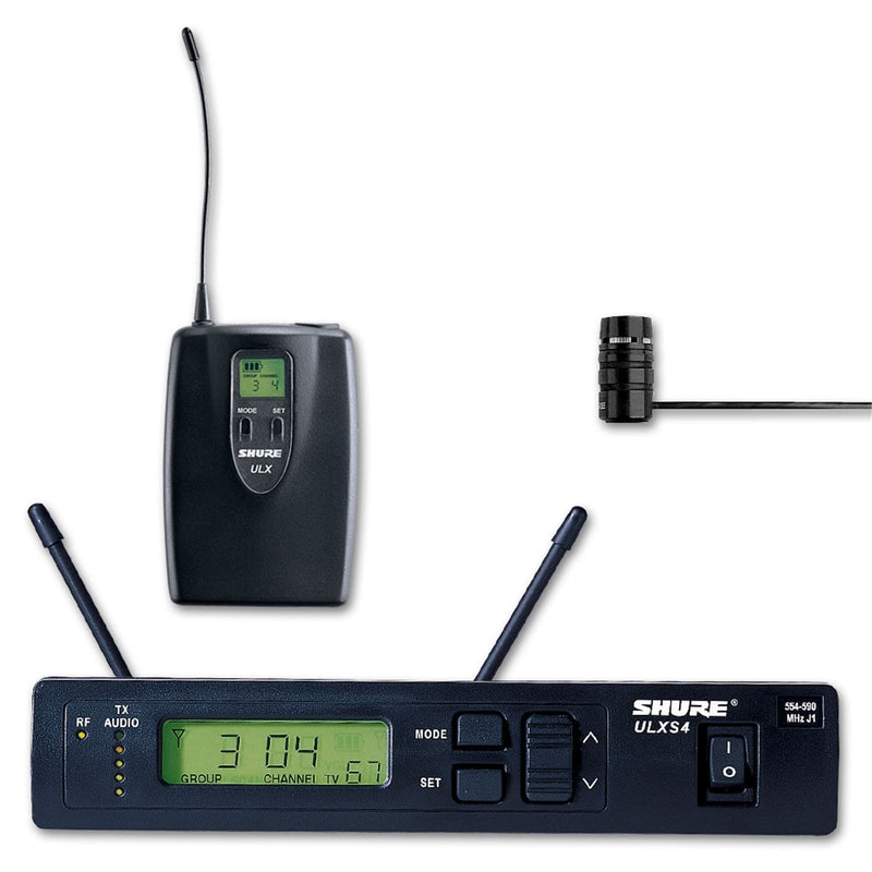 Shure ULXS1483 UHF Lavalier Wireless Mic with Wl183 - PSSL ProSound and Stage Lighting