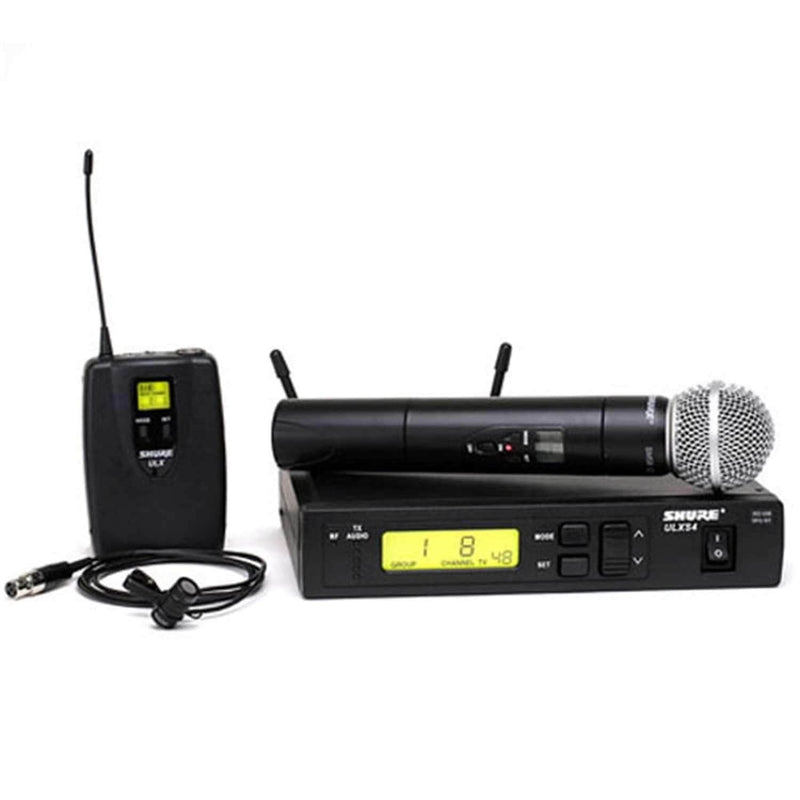 Shure ULXS12485 UHF Handheld/Lavalier Mic G3 - PSSL ProSound and Stage Lighting
