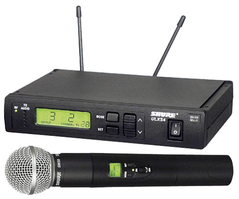 Shure ULX Standard Wireless Mic System with SM58 J1 - PSSL ProSound and Stage Lighting