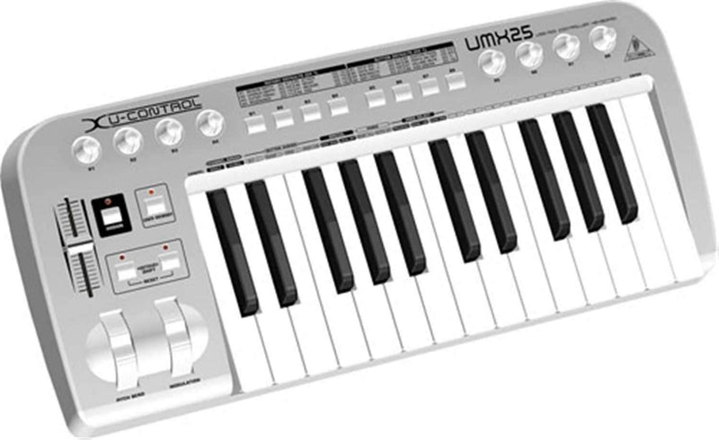 Behringer UMX-25 25-Key Controller With USB Int. - PSSL ProSound and Stage Lighting